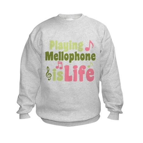 Mellophone is Life Kids Sweatshirt