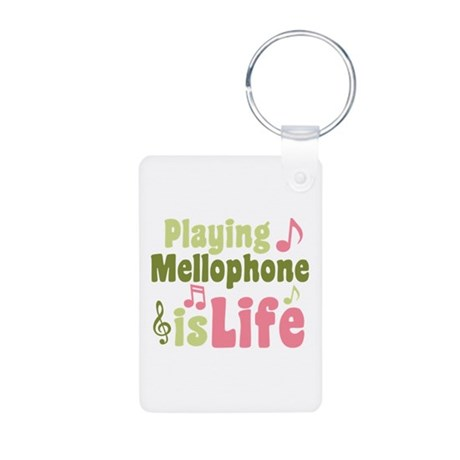 Mellophone is Life Aluminum Photo Keychain