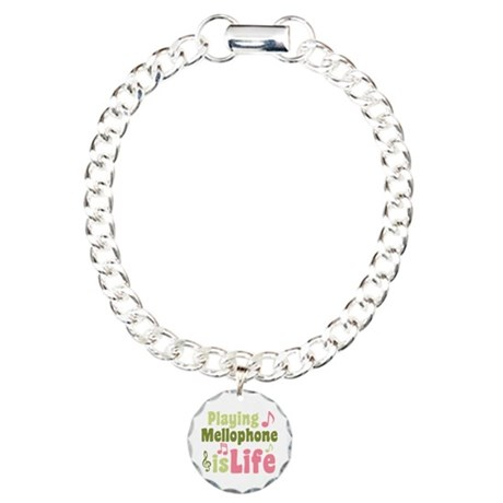 Mellophone is Life Charm Bracelet, One Charm