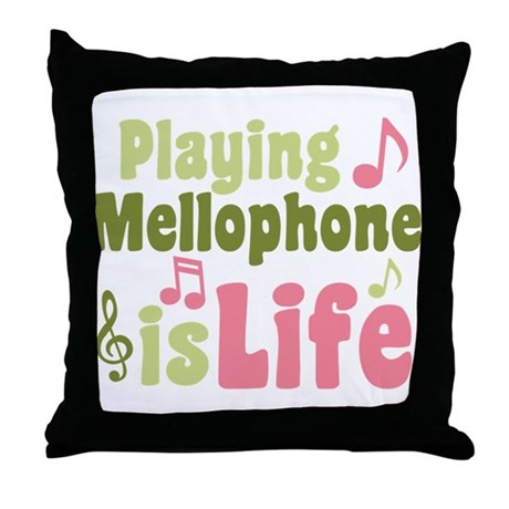 Mellophone is Life Throw Pillow