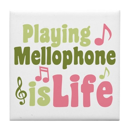 Mellophone is Life Tile Coaster