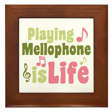 Mellophone is Life Framed Tile