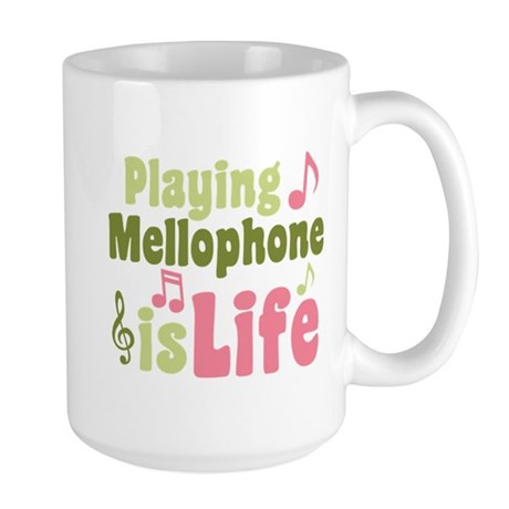 Mellophone is Life Large Mug
