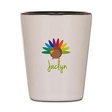 Jaclyn the Turkey Shot Glass