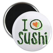 I Heart Sushi Magnet
