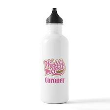 Coroner Gift (World's Best) Water Bottle