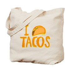 I heart Tacos Tote Bag