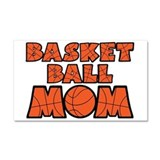 Basketball Mom Car Magnet 20 x 12