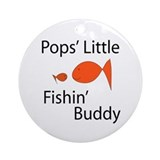 Pops' Fishin' Buddy Ornament (Round)