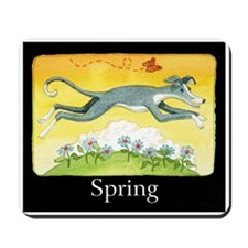 """SPRING"" (with copy) Mousepad"