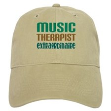 Music Therapist Extraordinaire Baseball Cap