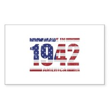 1942 Made In America Decal
