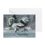 2011 Holiday Unicorn Greeting Cards (Pk of 20)