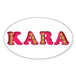 Kara Sticker (Oval)