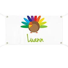 Luann the Turkey Banner