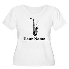 Personalized Saxophone T-Shirt