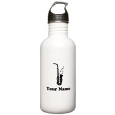 Personalized Saxophone Sports Water Bottle