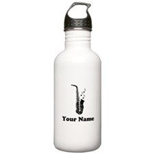 Personalized Saxophone Water Bottle