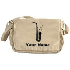 Personalized Saxophone Messenger Bag