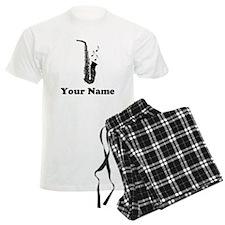 Personalized Saxophone Men's Light Pajamas