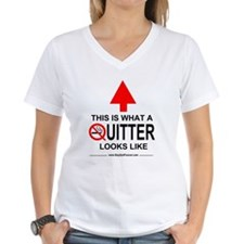 What A Quitter Looks Like Shirt