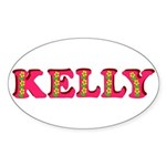 Kelly Sticker (Oval)
