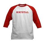Krystal Kids Baseball Jersey