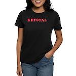 Krystal Women's Dark T-Shirt