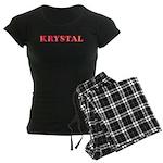 Krystal Women's Dark Pajamas
