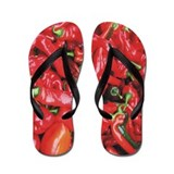 Ref Chili Peppers Flip Flops