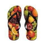 Mixed Fruit Flip Flops