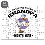 Grandpa To Be Personalized Puzzle