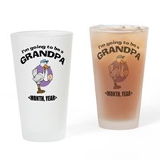 Grandpa To Be Personalized Drinking Glass