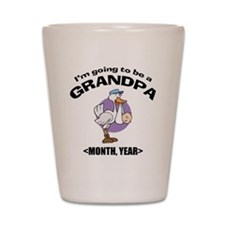 Grandpa To Be Personalized Shot Glass