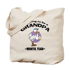 Grandpa To Be Personalized Tote Bag