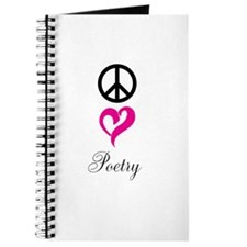 peace, love, poetry Journal