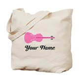 Cute Custom Viola Tote Bag