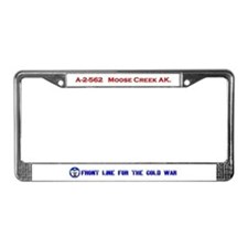 Moose Creek License Plate Frame