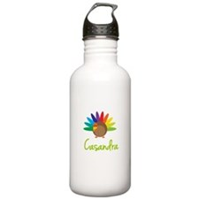 Casandra the Turkey Sports Water Bottle