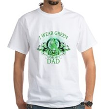 I Wear Green for my Dad (flor Shirt