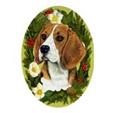 Beagle Ornament (Oval)