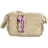 Yoga- Body, Mind and Spirit Messenger Bag