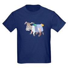 School Donkey (Dark) - Kids T-Shirt