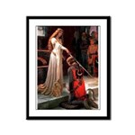 Accolade / Poodle (Apricot) Framed Panel Print
