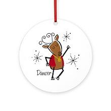 Dancer Reindeer Ornament