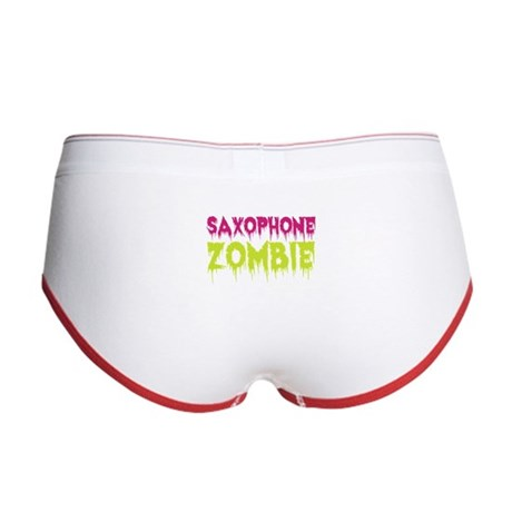 Saxophone Zombie Women's Boy Brief