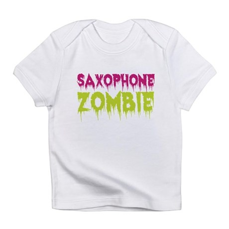 Saxophone Zombie Infant T-Shirt