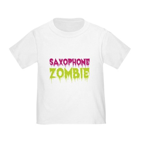 Saxophone Zombie Toddler T-Shirt
