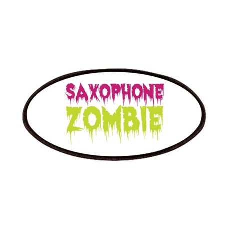Saxophone Zombie Patches