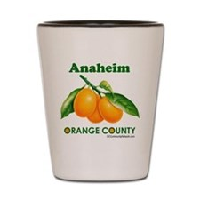 Anaheim, Orange County Shot Glass